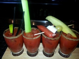 Bloody Mary Flights Available:  Comes with our 3 Infused Vodkas and Original
